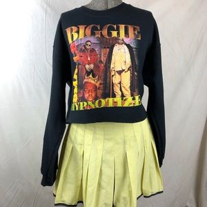 Cropped Notorious BIGGIE sweater